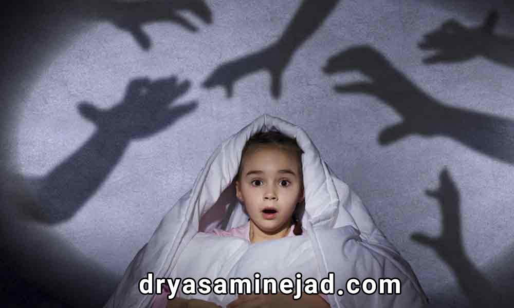 ترس و فوبیا در کودکان